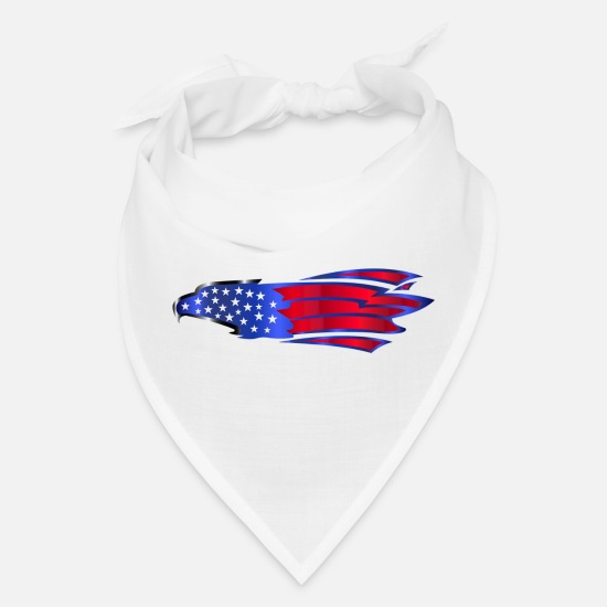 Nato Caps - eagle - Bandana white