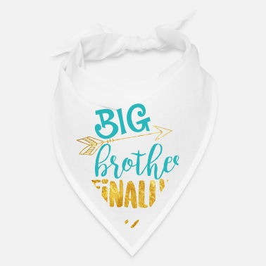 Announcement Big Brother graphic - Pregnancy Baby Announcement - Bandana