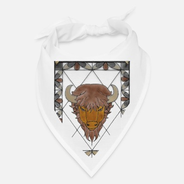Native American Buffalo Native American Buffalo - Bandana