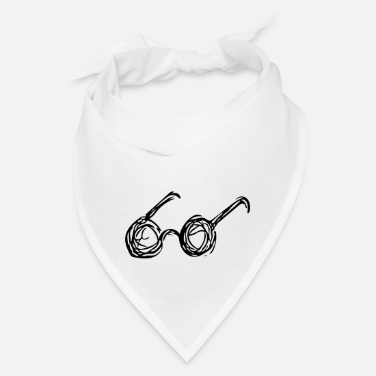 Glasses Caps - Glasses - Bandana white