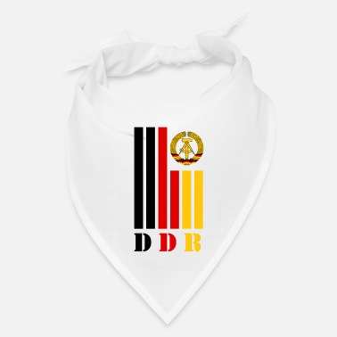GDR DDR beam with national colors / Gift Ostalgia - Bandana