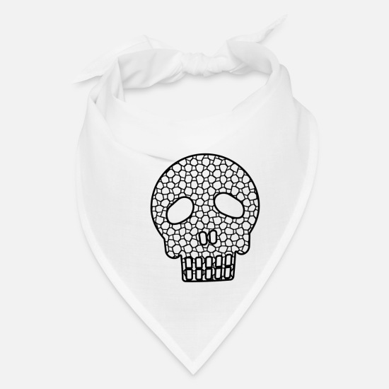 Pirate Caps - Skull - Bandana white