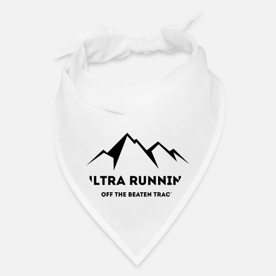 Forest Caps - Ultra Running - Off The Beaten Track - Bandana white