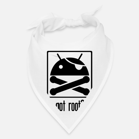 Root Caps - Android Root - Bandana white