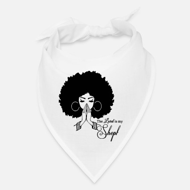 Facial Expressions Black Women Praying God Believe Afro Hairstyle - Bandana