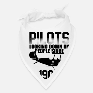 Private Pilot Airplane Aircraft Aviator Commercial Privat Pilot - Bandana