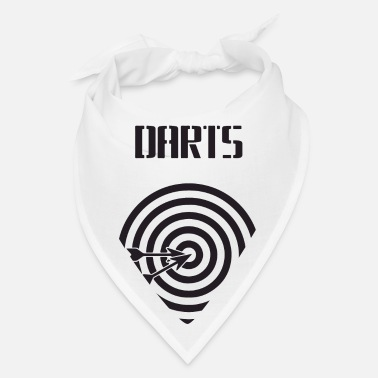 Cards dartboard with arrows - Bandana