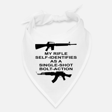 Bolt-action Rifles My Rifle Self Identifies As A Single Shot Bolt Act - Bandana