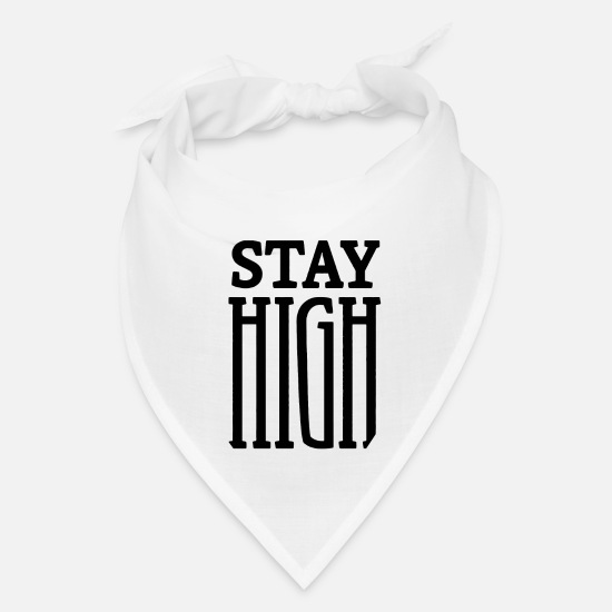 Joint Caps - Stay high 01 - Bandana white