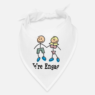 Engagement Engagement We're Engaged - Bandana