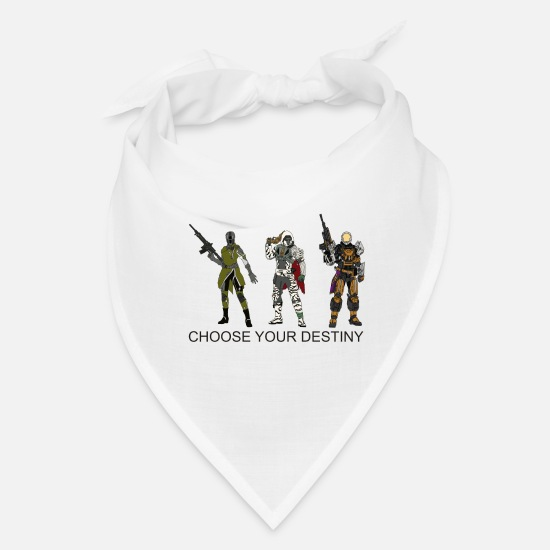 Destiny Caps - Choose Your Destiny - Bandana white