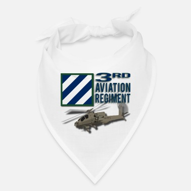 Us 3rd Aviation Regiment Apache - Bandana