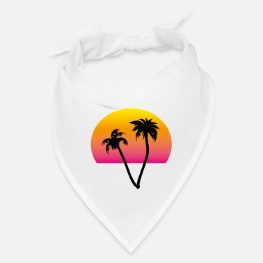 palms and sun II - Bandana