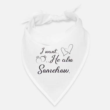 Wedding Day funny wedding, engagement, wedding day - Bandana