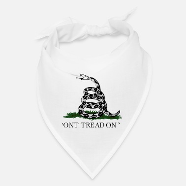 Don't Tread On Me (Gadsden Flag) - Bandana