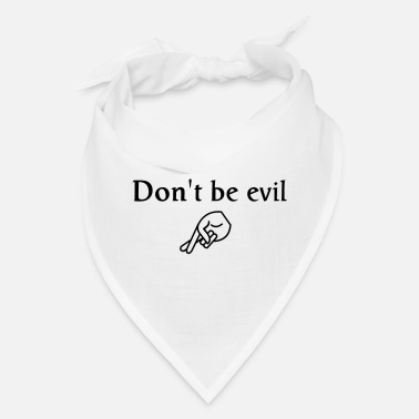 Power don't be evil - Bandana