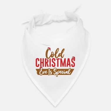 Parents Cold Christmas Eve is Special - Merry Christmas - Bandana