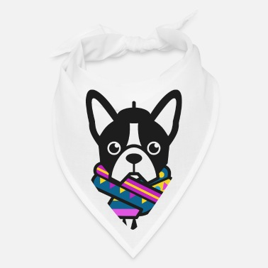 Dog French Bulldog - Bandana