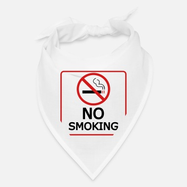 No Smoking no smoking - Bandana