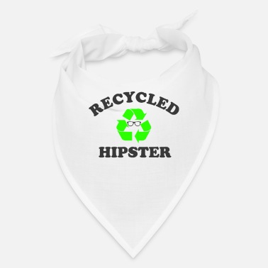 Hipster recycled hipster - Bandana