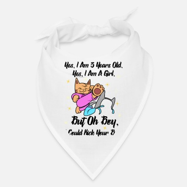 Kung Fu Martial arts girl gift 3 years old - Bandana