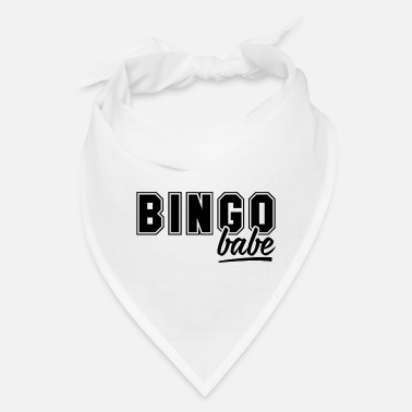 Lucky Number Bingo Babe - Yell Game Hall Balls Casino Girl Gift - Bandana