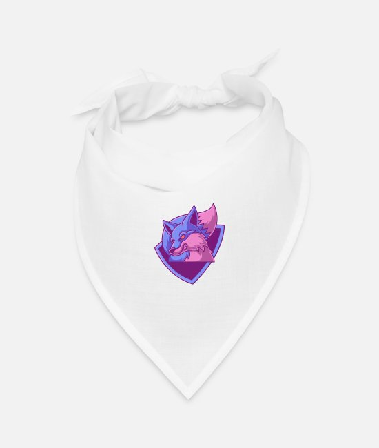 Photo Bandanas - Photo - Bandana white