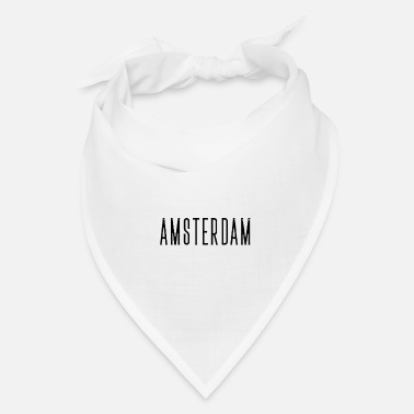 Netherlands Amsterdam streched letters - Bandana