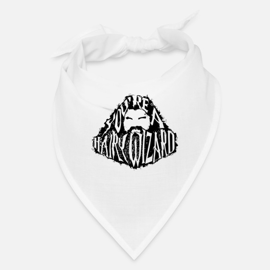 Game Caps - You re A Hairy Wizard - Bandana white