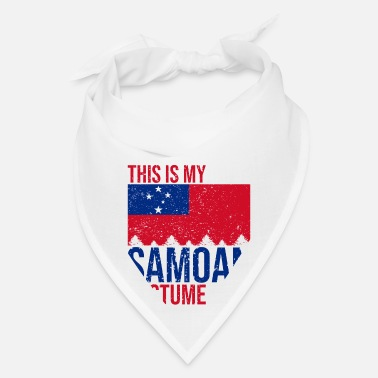 Samoan This is my Samoan Costume Halloween T-Shirt - Bandana