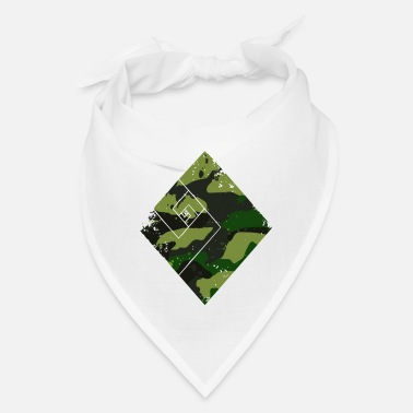 Trend Square camouflage pattern green - Bandana
