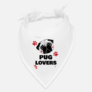 Pug Lovers New Design For Dog Lover - Bandana