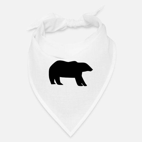 North Caps - polar bear eisbaer nordpol north pole alaska4 - Bandana white