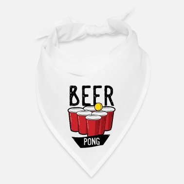 Drink Beer Pong Team Drinking Game Friends - Bandana