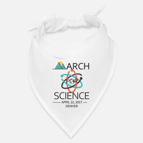 Denver Caps - March for Science - Bandana white