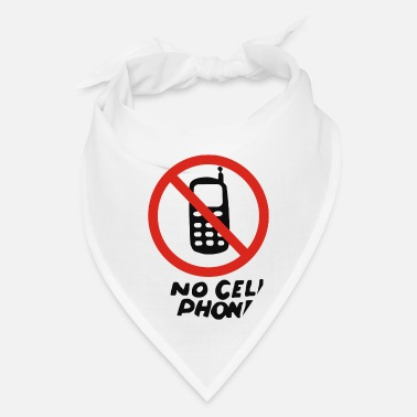 Cell No Cell Phones - Bandana