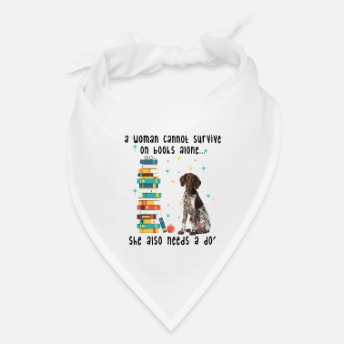 BOOK AND GERMAN SHORTHAIRED POINTER - Bandana