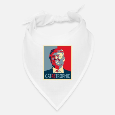 Cool Anti Trump Democrat Funny Quote Saying Word Play - Bandana
