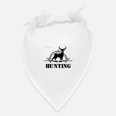 Hunting Club Hunter Hunt Hobby Deer - Bandana