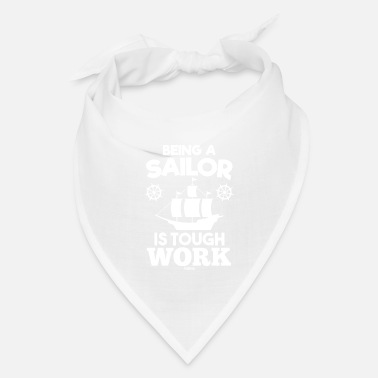 North Sea Ship sailing sea captain sailing - Bandana