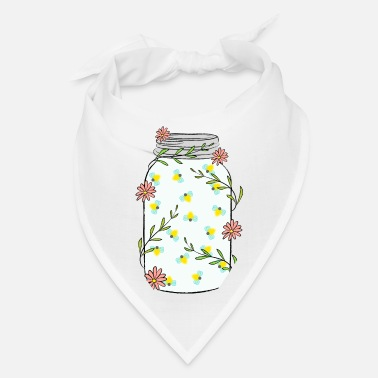 Jar Fireflies in Jar - Bandana