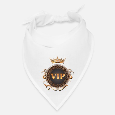 Vip VIP V.I.P with Crown Design - Bandana