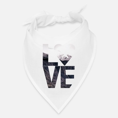 Boobearstudio L.O.V.E. Mountains Outdoor Design - Bandana