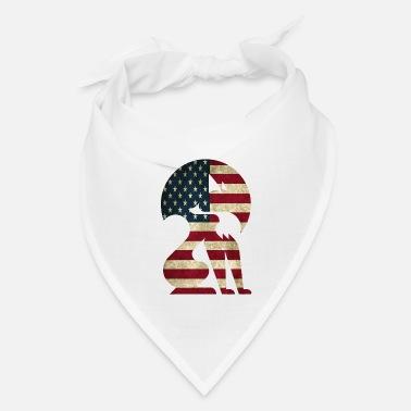 Graphic Art Fox america graphic art - Bandana