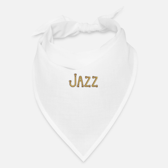 Cool Caps - Golden jazz - Bandana white