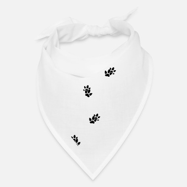 Animal Tracks animal tracks footprint tapir - Bandana