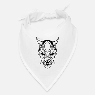 Horns Yokai demon mask 2 - Bandana