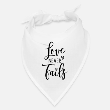 Cuore love never fails - Bandana