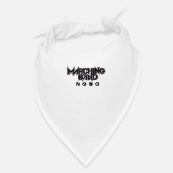 Marchingband Caps - Marching Band - Bandana white