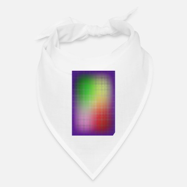 Grid gradient colored grid - Bandana